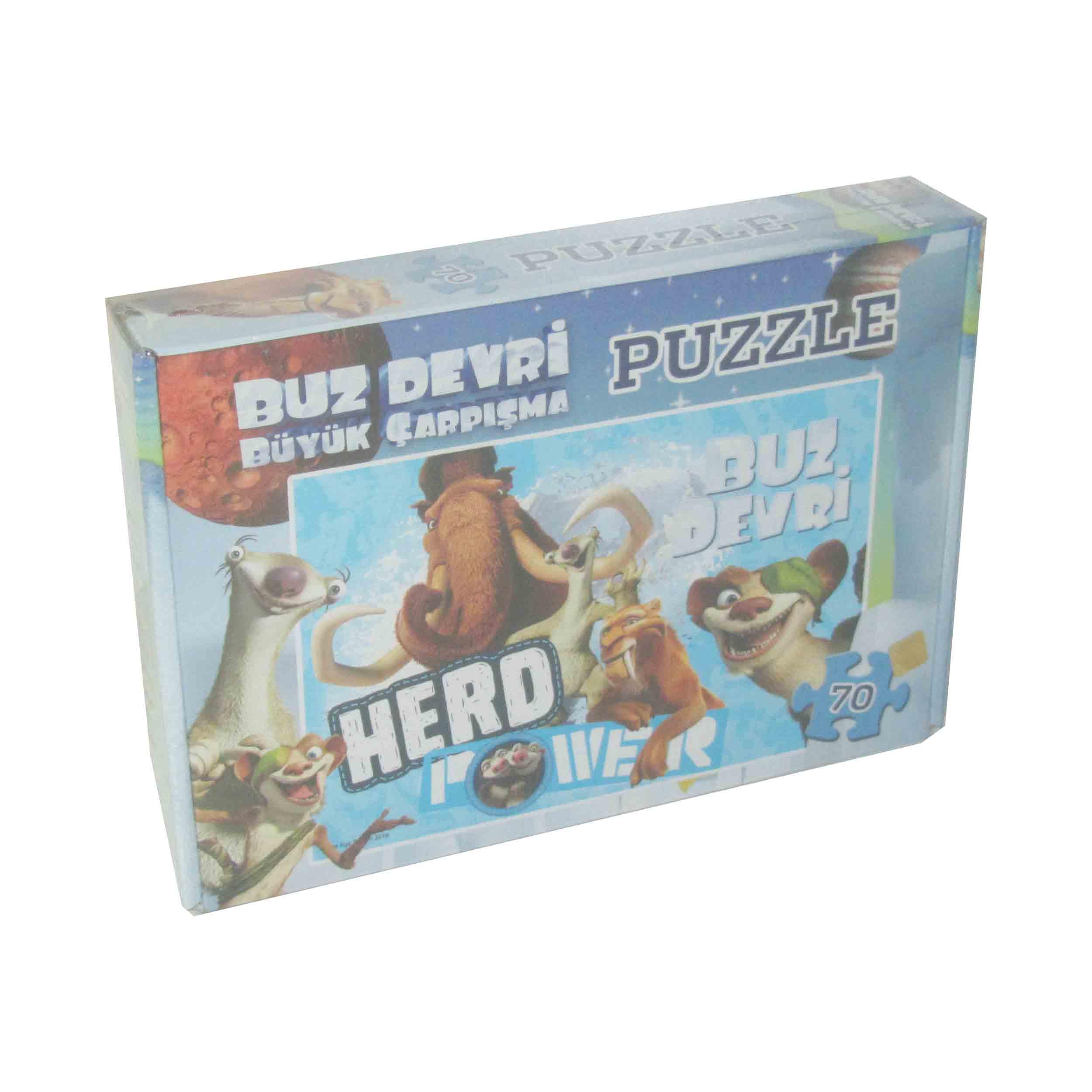 70 Parça Puzzle - Ice Age </br>  Puzzle L 75010
