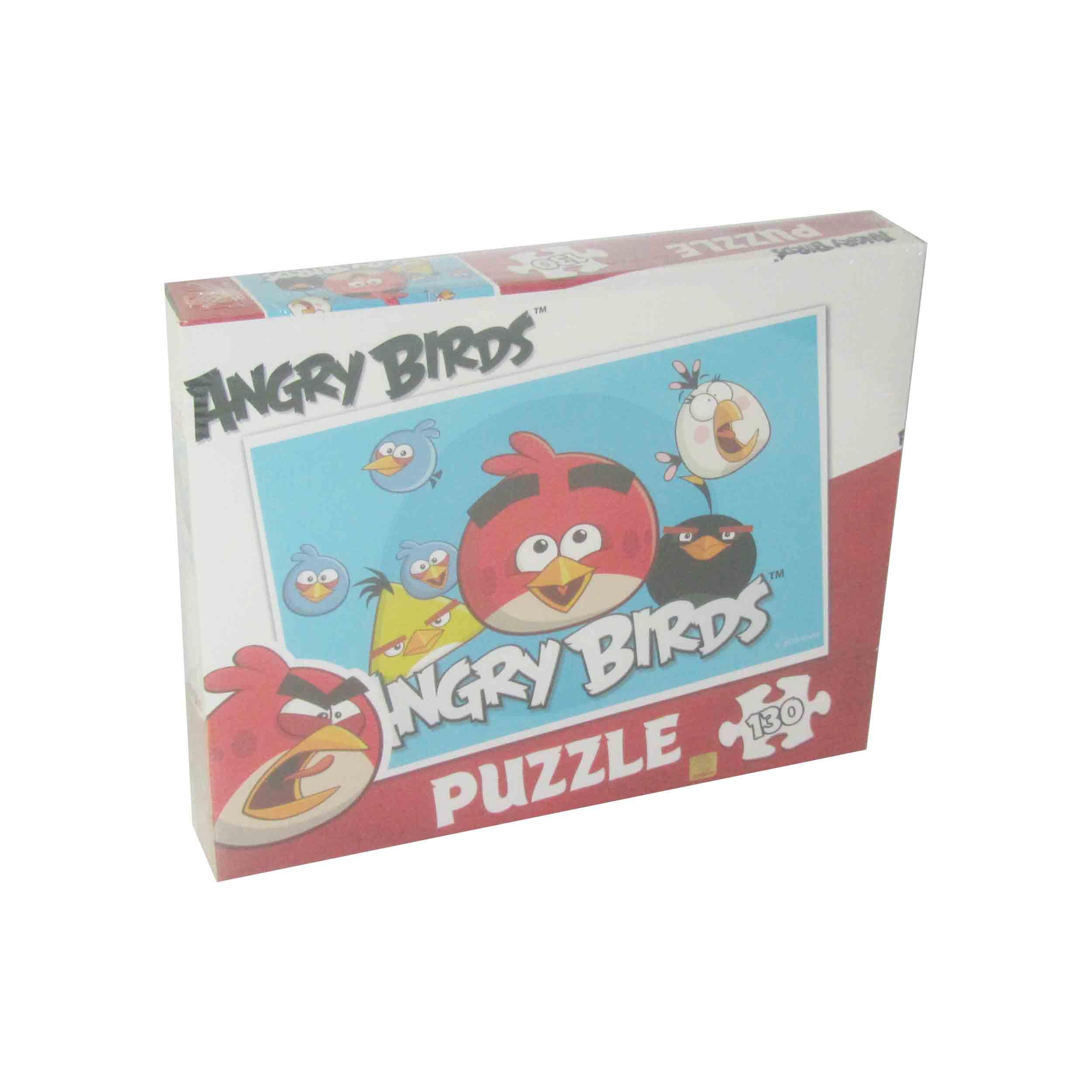 130 Parça Puzzle - Angry Birds </br>  Puzzle L 75140