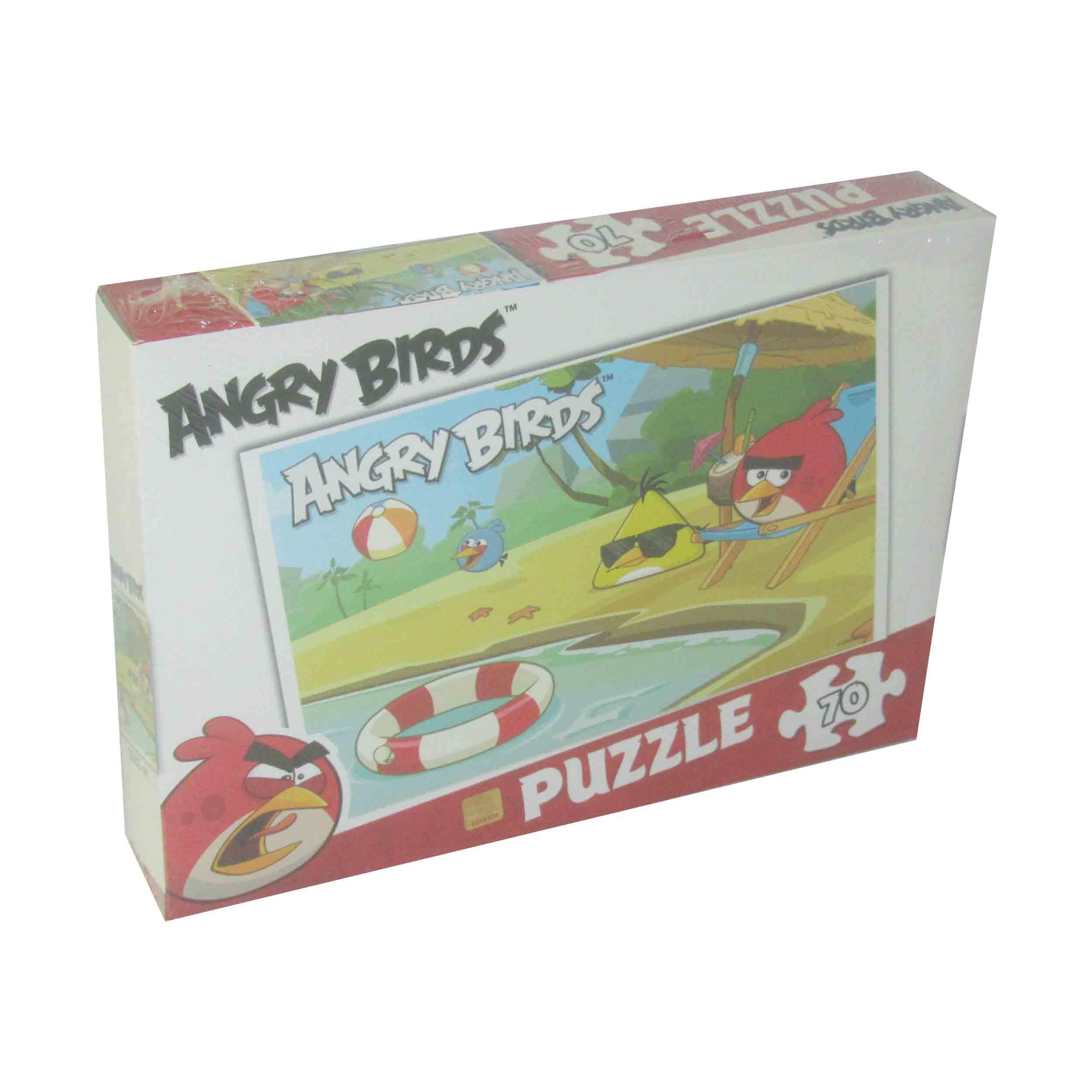 70 Parça Puzzle - Angry Birds </br>  Puzzle L 75027
