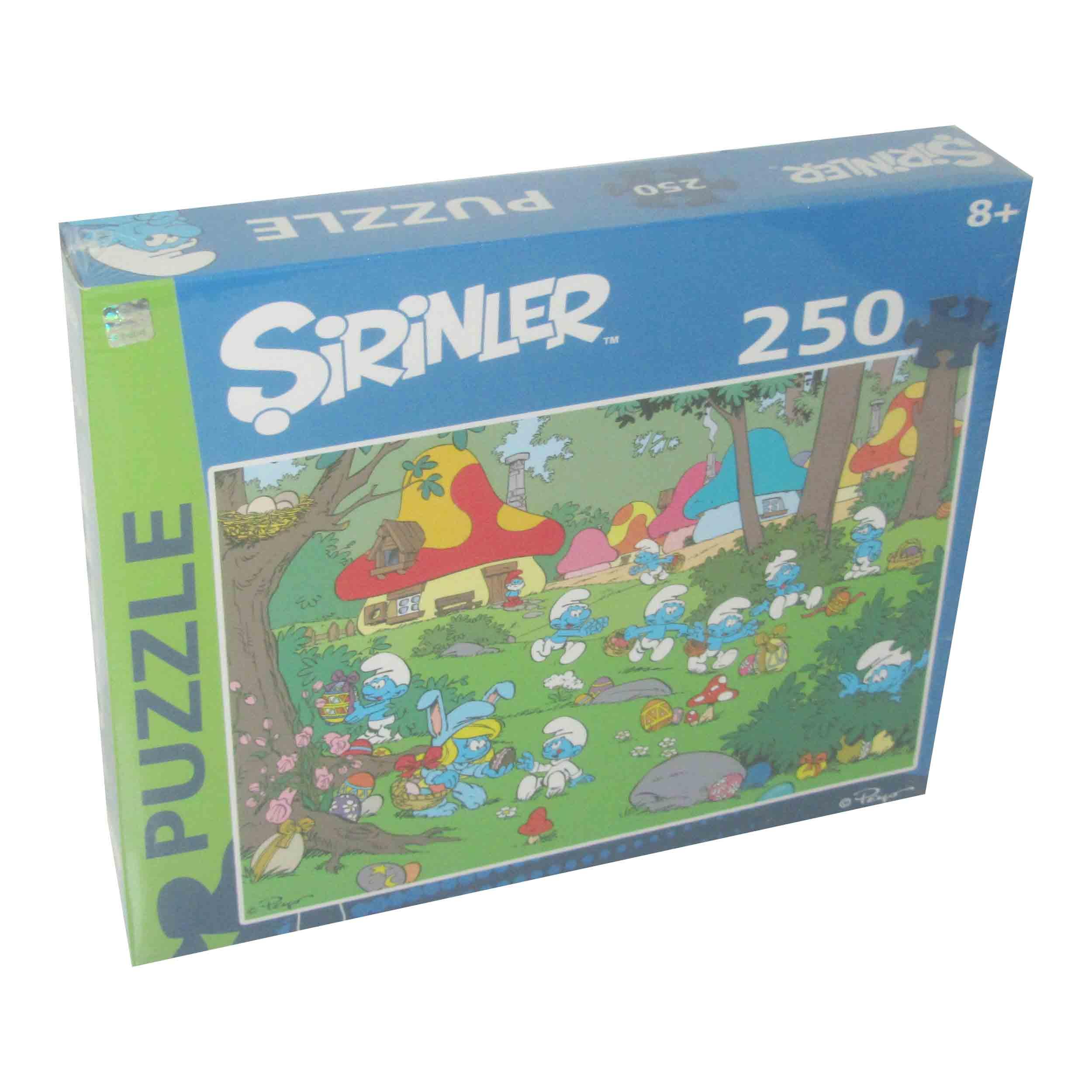 250 Parça Puzzle - Şirinler </br>  Puzzle L 75218