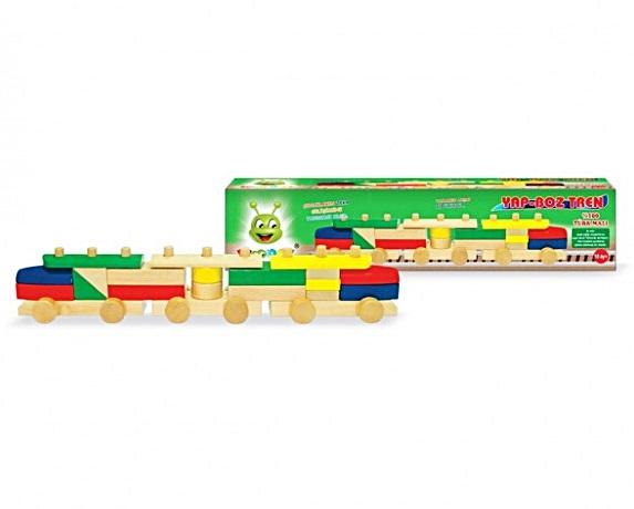 Woodoy Yap Boz Tren </br>  Eği 00135